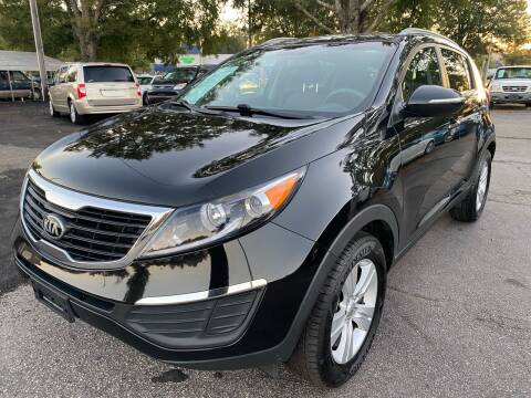 2013 Kia Sportage for sale at Atlantic Auto Sales in Garner NC