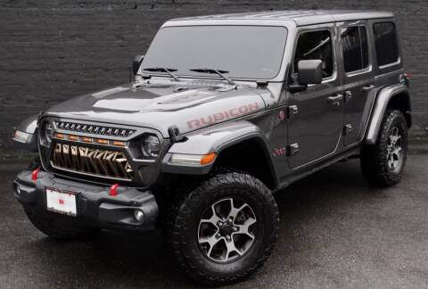 2018 Jeep Wrangler Unlimited for sale at Kings Point Auto in Great Neck NY