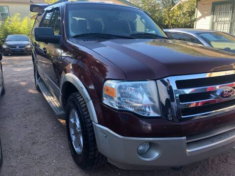 2007 Ford Expedition for sale at S & J Auto Group in San Antonio TX