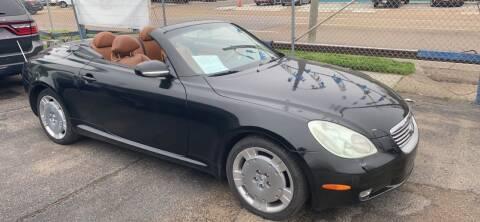2003 Lexus SC 430 for sale at Memphis Auto Sales in Memphis TN