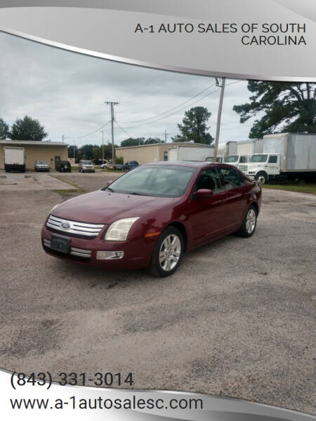 2006 Ford Fusion for sale at A-1 Auto Sales Of South Carolina in Conway SC