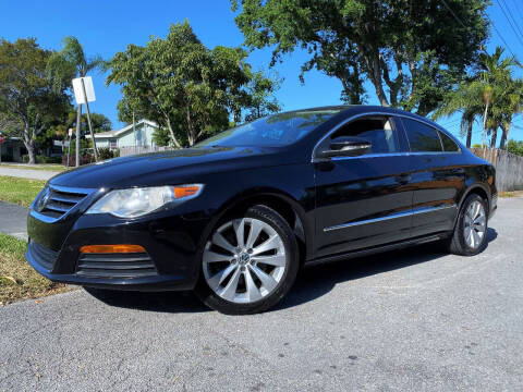 2012 Volkswagen CC for sale at LESS PRICE AUTO BROKER in Hollywood FL