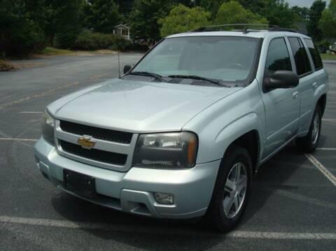 2007 Chevrolet TrailBlazer for sale at Uniworld Auto Sales LLC. in Greensboro NC