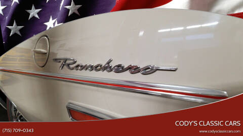 1968 Ford Ranchero for sale at Cody's Classic Cars in Stanley WI