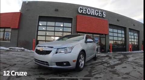 2012 Chevrolet Cruze for sale at George's Used Cars - Pennsylvania & Allen in Brownstown MI