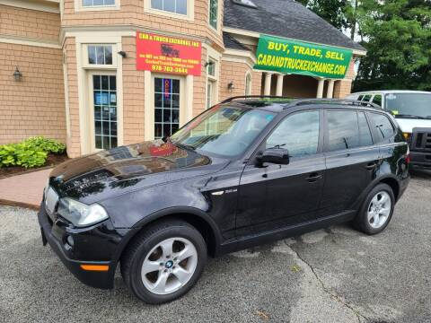 2007 BMW X3 for sale at Car and Truck Exchange, Inc. in Rowley MA