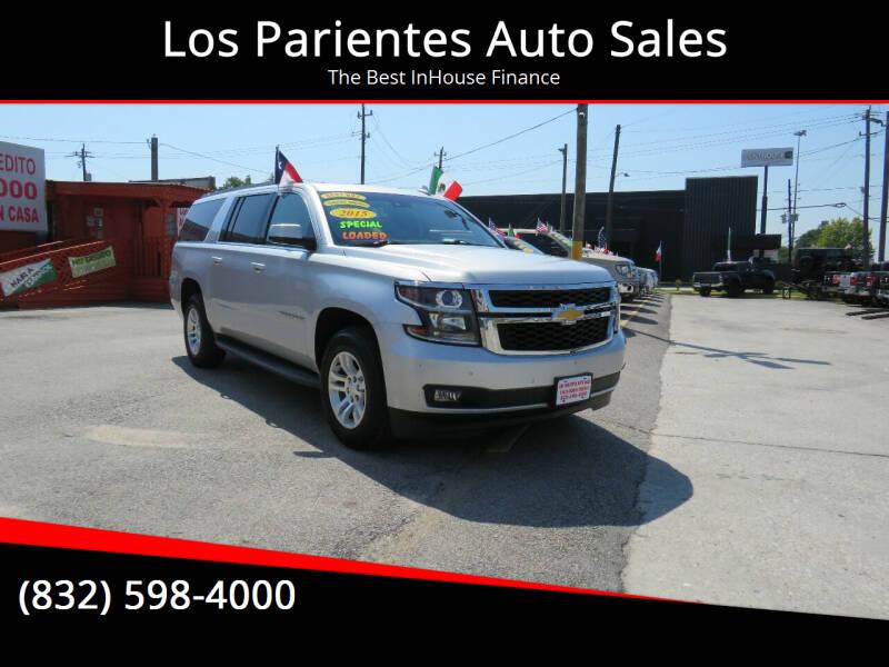 2015 Chevrolet Suburban for sale at Los Parientes Auto Sales in Houston TX