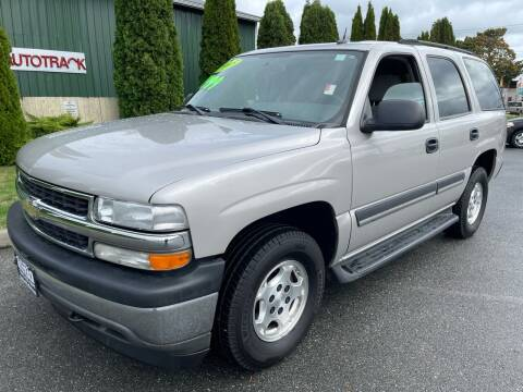 2005 Chevrolet Tahoe for sale at AUTOTRACK INC in Mount Vernon WA