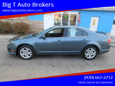 2011 Ford Fusion for sale at Big T Auto Brokers in Loveland CO