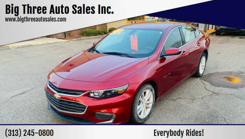 2017 Chevrolet Malibu for sale at Big Three Auto Sales Inc. in Detroit MI