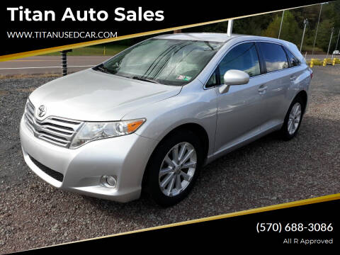 2009 Toyota Venza for sale at Titan Auto Sales in Berwick PA