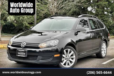 2012 Volkswagen Jetta for sale at Worldwide Auto Group in Auburn WA