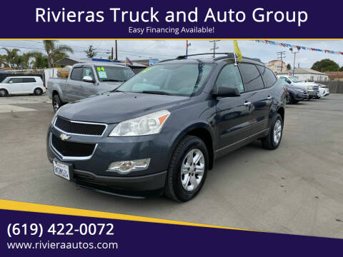 2012 Chevrolet Traverse for sale at Rivieras Truck and Auto Group in Chula Vista CA