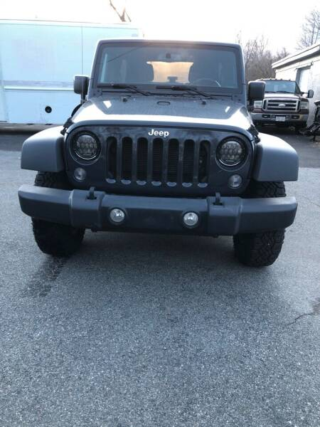 2016 Jeep Wrangler Unlimited for sale at MOTORS EAST in Cumberland RI