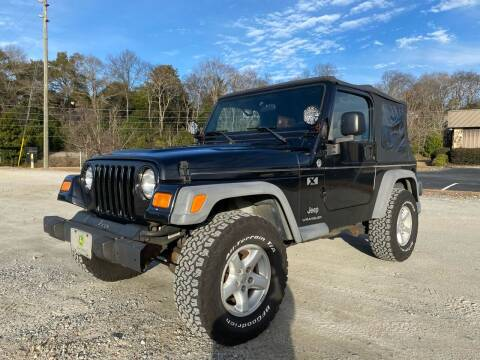 2005 Jeep Wrangler for sale at RCD Trucks in Macon GA