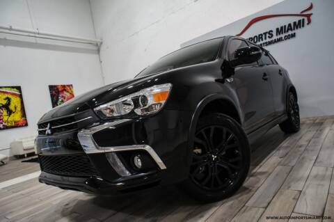 2018 Mitsubishi Outlander Sport for sale at AUTO IMPORTS MIAMI in Fort Lauderdale FL