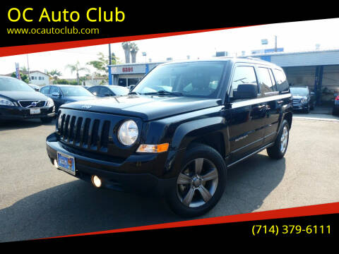2015 Jeep Patriot for sale at OC Auto Club in Midway City CA