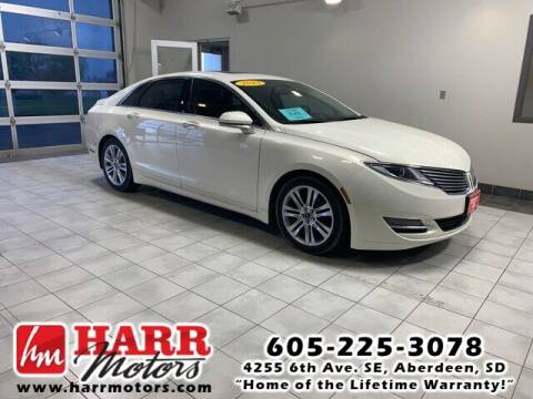 2013 Lincoln MKZ for sale at Harr's Redfield Ford in Redfield SD
