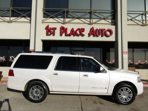 2013 Lincoln Navigator L for sale at First Place Auto Ctr Inc in Watauga TX