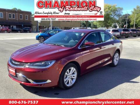 2016 Chrysler 200 for sale at CHAMPION CHRYSLER CENTER in Rockwell City IA