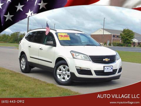 2014 Chevrolet Traverse for sale at AUTO VILLAGE LLC in Lebanon TN