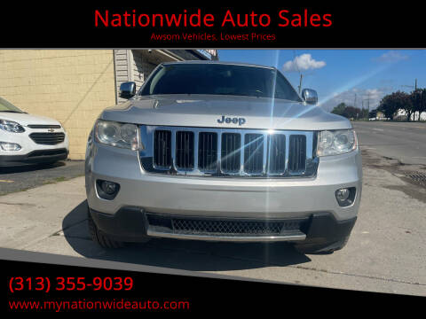 2013 Jeep Grand Cherokee for sale at Nationwide Auto Sales in Melvindale MI