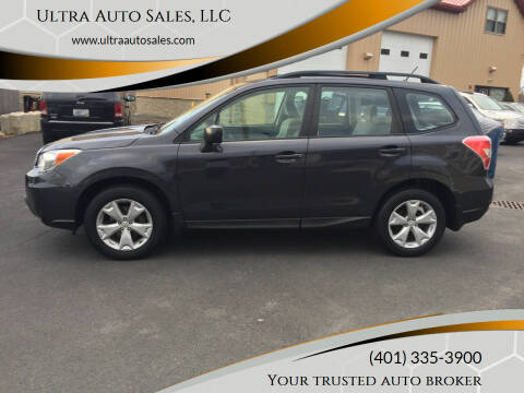 2015 Subaru Forester for sale at Ultra Auto Sales, LLC in Cumberland RI