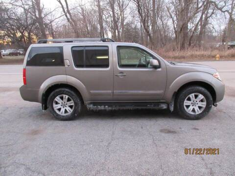 2008 Nissan Pathfinder for sale at Settle Auto Sales TAYLOR ST. in Fort Wayne IN