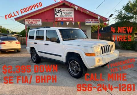 2006 Jeep Commander for sale at Coqui Auto Sales in La Feria TX
