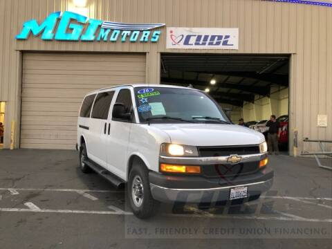 2016 Chevrolet Express Passenger for sale at MGI Motors in Sacramento CA