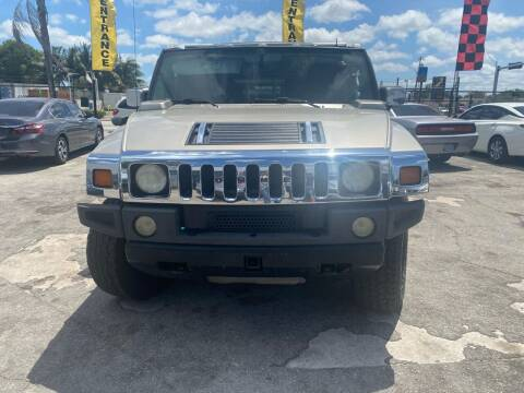 2004 HUMMER H2 for sale at America Auto Wholesale Inc in Miami FL