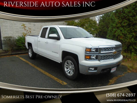 2015 Chevrolet Silverado 1500 for sale at RIVERSIDE AUTO SALES INC in Somerset MA