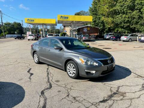 2015 Nissan Altima for sale at Trust Petroleum in Rockland MA