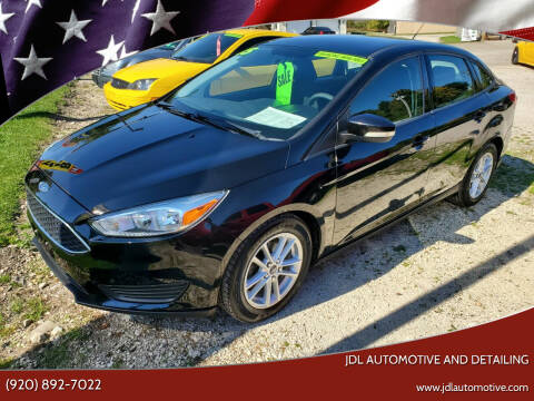 2015 Ford Focus for sale at JDL Automotive and Detailing in Plymouth WI