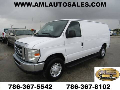2010 Ford E-Series Cargo for sale at AML AUTO SALES - Cargo Vans in Opa-Locka FL