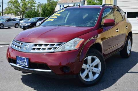 2007 Nissan Murano for sale at Lighthouse Motors Inc. in Pleasantville NJ