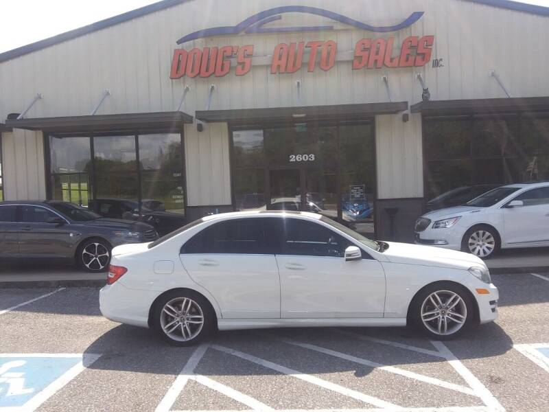 2012 Mercedes-Benz C-Class for sale at DOUG'S AUTO SALES INC in Pleasant View TN