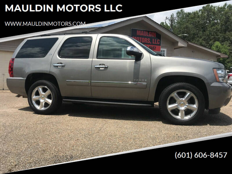 2012 Chevrolet Tahoe for sale at MAULDIN MOTORS LLC in Sumrall MS