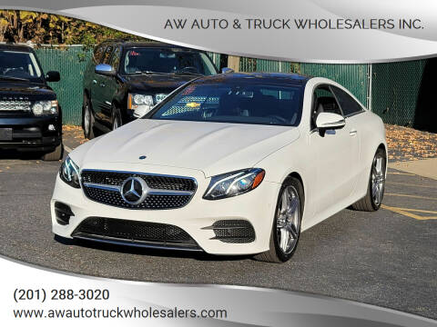 2020 Mercedes-Benz E-Class for sale at AW Auto & Truck Wholesalers  Inc. in Hasbrouck Heights NJ
