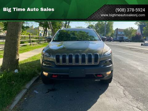 2016 Jeep Cherokee for sale at Big Time Auto Sales in Vauxhall NJ