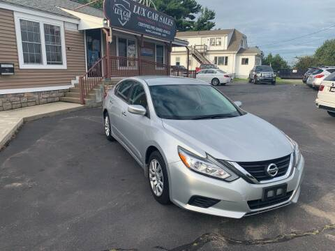 2016 Nissan Altima for sale at Lux Car Sales in South Easton MA
