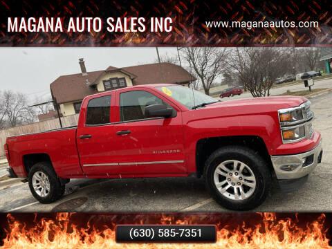 2014 Chevrolet Silverado 1500 for sale at Magana Auto Sales Inc in Aurora IL