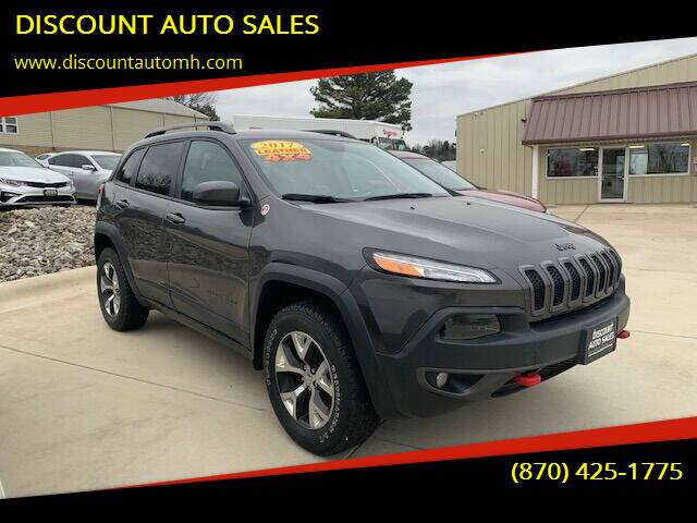 2017 Jeep Cherokee for sale at DISCOUNT AUTO SALES in Mountain Home AR