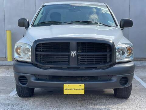 2009 Dodge Ram Pickup 2500 for sale at Delta Auto Alliance in Houston TX