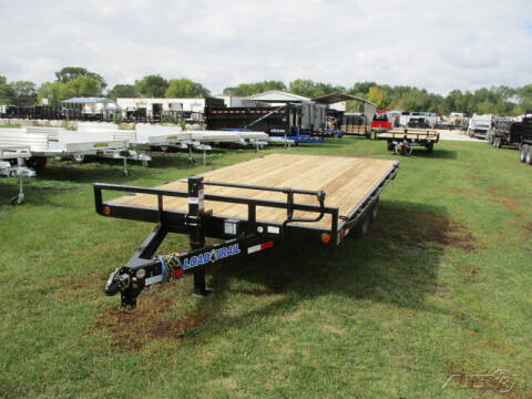 2022 Load Trail Equipment Deckover DK0216052 for sale at Rondo Truck & Trailer in Sycamore IL
