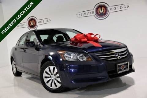 2011 Honda Accord for sale at Unlimited Motors in Fishers IN