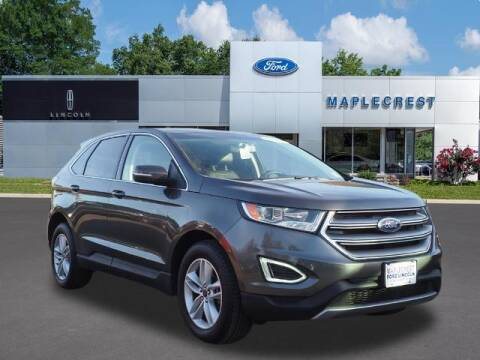 2018 Ford Edge for sale at MAPLECREST FORD LINCOLN USED CARS in Vauxhall NJ