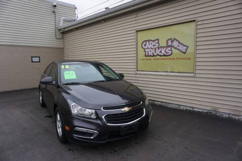 2016 Chevrolet Cruze Limited for sale at Cars Trucks & More in Howell MI