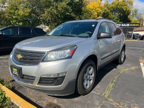2014 Chevrolet Traverse for sale at Chinos Auto Sales in Crystal MN