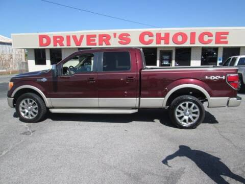 2009 Ford F-150 for sale at Driver's Choice in Sherman TX